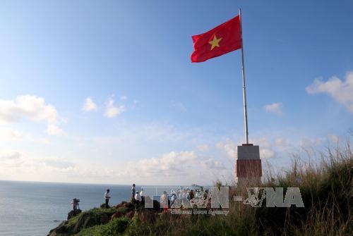 Khánh thành Cột cờ Tổ quốc tại đảo Phú Quý - Ảnh 1