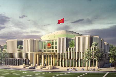 Phó Thủ tướng Hoàng Trung Hải chủ trì cuộc họp Ban chỉ đạo xây dựng Nhà Quốc hội - Ảnh 1