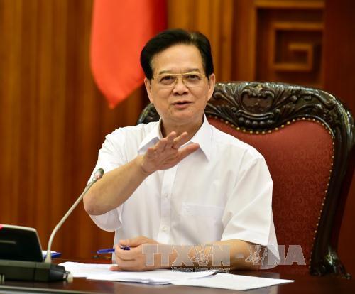 Thường trực Chính phủ họp về tình hình kinh tế vĩ mô - Ảnh 1