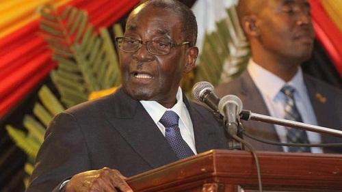 """Tổng thống Zimbabwe """"đọc nhầm"""" cả bài phát biểu mà không hay biết - Ảnh 1"""