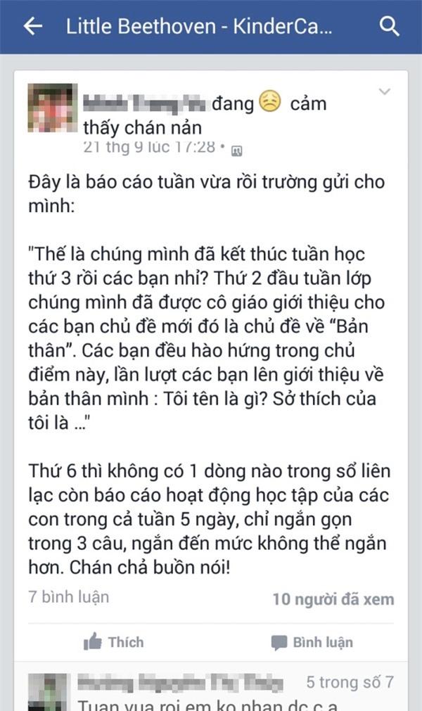 Hà Nội: Mẹ lập nhóm facebook than phiền, con bị cho thôi học? - Ảnh 2