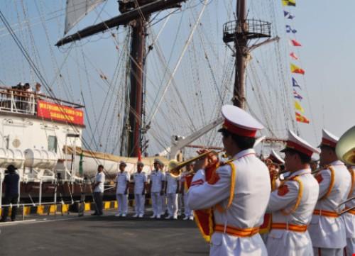 Lễ thượng cờ tàu buồm hiện đại nhất của Hải quân Việt Nam - Ảnh 2