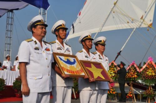 Lễ thượng cờ tàu buồm hiện đại nhất của Hải quân Việt Nam - Ảnh 3