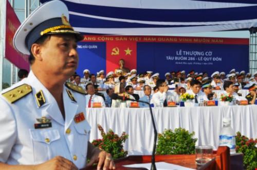 Lễ thượng cờ tàu buồm hiện đại nhất của Hải quân Việt Nam - Ảnh 4