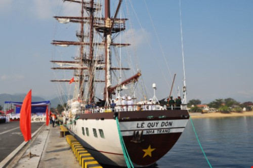 Lễ thượng cờ tàu buồm hiện đại nhất của Hải quân Việt Nam - Ảnh 5