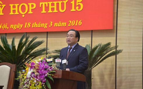 HĐND TP Hà Nội họp kiện toàn các chức danh lãnh đạo - Ảnh 1