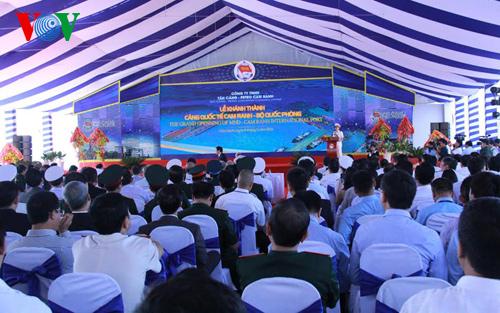 Chủ tịch nước dự lễ khai trương Cảng quốc tế Cam Ranh - Ảnh 3