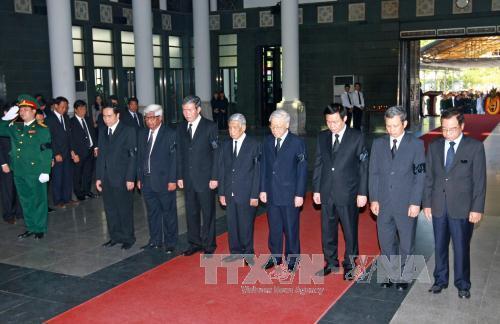 Tổ chức trọng thể Lễ tang nguyên Phó Thủ tướng Hoàng Anh - Ảnh 1