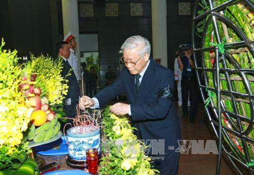 Tổ chức trọng thể Lễ tang nguyên Phó Thủ tướng Hoàng Anh - Ảnh 2