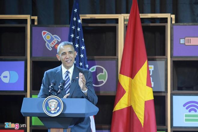 Tổng thống Obama đối thoại với hơn 100 doanh nghiệp Việt tại TP.HCM - Ảnh 7