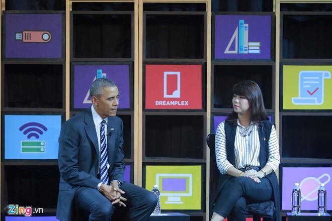 Tổng thống Obama đối thoại với hơn 100 doanh nghiệp Việt tại TP.HCM - Ảnh 6