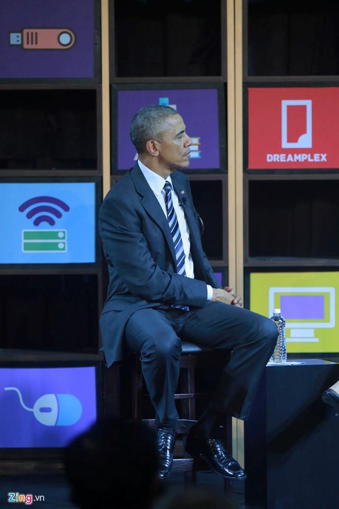 Tổng thống Obama đối thoại với hơn 100 doanh nghiệp Việt tại TP.HCM - Ảnh 5