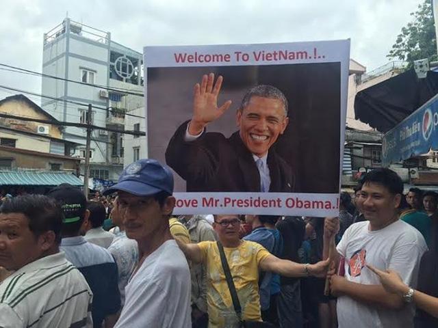 Tổng thống Obama đến thăm chùa Ngọc Hoàng - Ảnh 13
