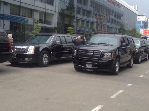 Tổng thống Obama rời Hà Nội vào TP HCM - Ảnh 6