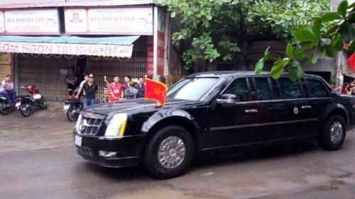 Tổng thống Obama rời Hà Nội vào TP HCM - Ảnh 3