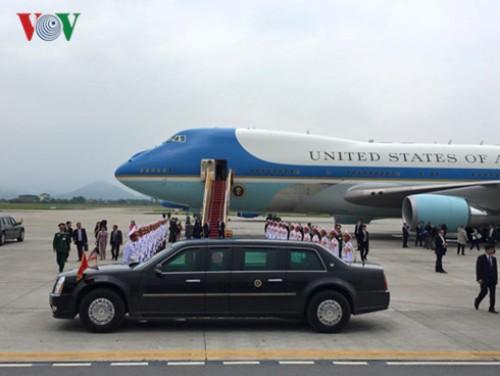 Tổng thống Obama rời Hà Nội vào TP HCM - Ảnh 8