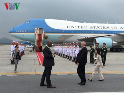 Tổng thống Obama rời Hà Nội vào TP HCM - Ảnh 5