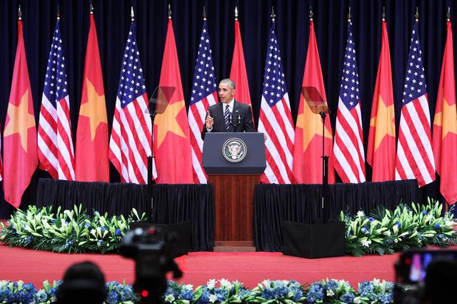 Ông Obama: Chính người Việt Nam quyết định vận mệnh và tương lai của mình - Ảnh 3