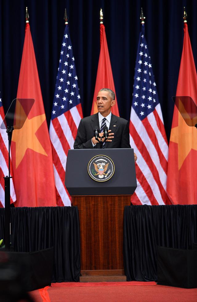 Ông Obama: Chính người Việt Nam quyết định vận mệnh và tương lai của mình - Ảnh 1