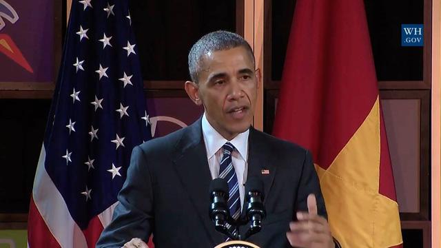 Tổng thống Obama đối thoại với hơn 100 doanh nghiệp Việt tại TP.HCM - Ảnh 3