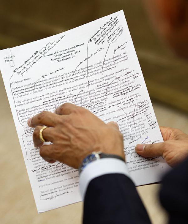 Diễn văn của Tổng thống Obama được chuẩn bị thế nào? - Ảnh 2