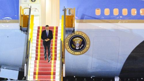 """Tiết lộ về 10 phút """"đóng cửa sân bay"""" ưu tiên chuyên cơ chở Tổng thống Obama - Ảnh 2"""