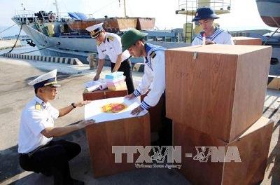 Triển khai sớm bầu cử tại huyện đảo Trường Sa - Ảnh 1