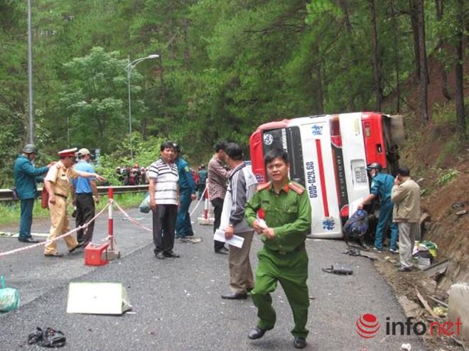 Tai nạn ở đèo Prenn: Huy động mọi nguồn lực để cứu chữa các nạn nhân - Ảnh 1