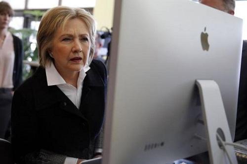 Tin tặc tấn công chiến dịch tranh cử của Hillary Clinton - Ảnh 1
