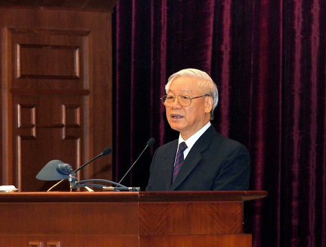 Phát biểu của Tổng Bí thư bế mạc Hội nghị lần thứ ba BCH Trung ương Đảng - Ảnh 1