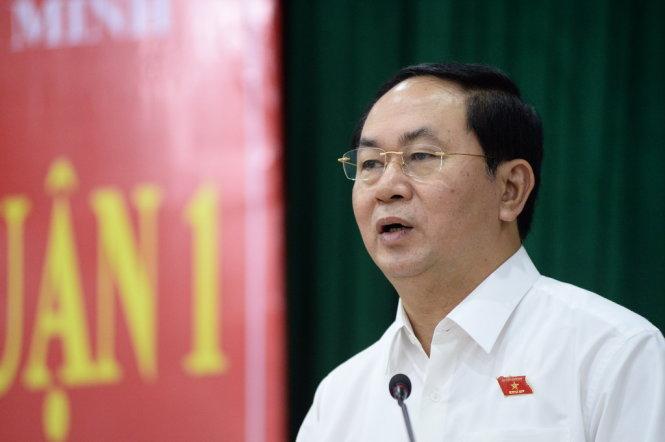 Chủ tịch nước: vụ Formosa, ai vi phạm cũng bị xử lý - Ảnh 1