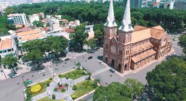 Clip: Cảm giác rất tuyệt khi ngắm một Sài Gòn tươi trẻ, sống động từ trên cao - Ảnh 13