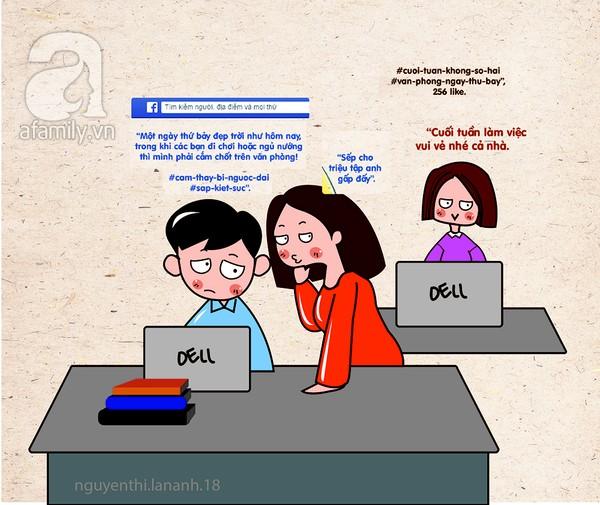 """Tranh vui: """"Để tao cho mày lên Facebook"""" - Ảnh 7"""