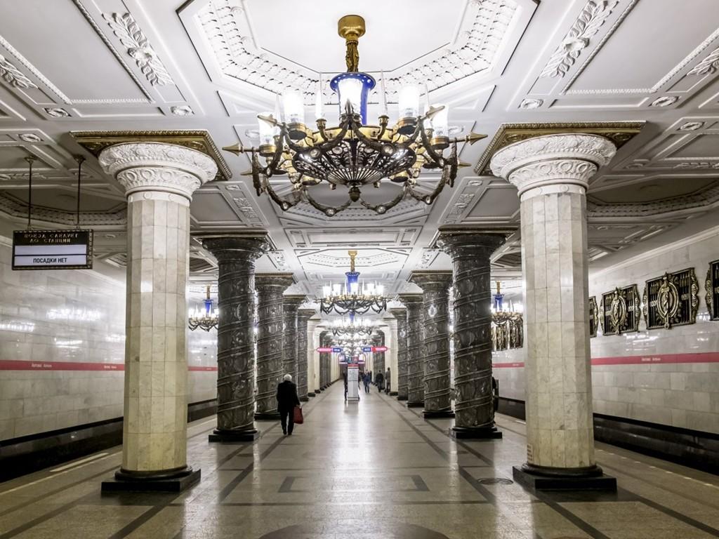 Những ga tàu điện ngầm đẹp như xứ sở thần tiên - Ảnh 11