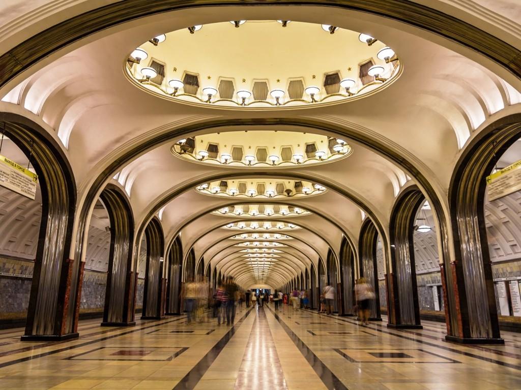 Những ga tàu điện ngầm đẹp như xứ sở thần tiên - Ảnh 16