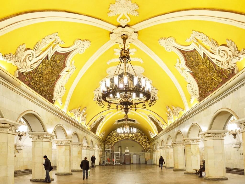 Những ga tàu điện ngầm đẹp như xứ sở thần tiên - Ảnh 4