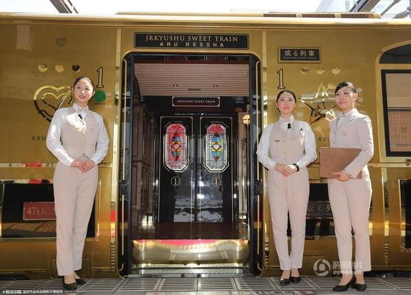 Bên trong tàu hỏa sang trọng bậc nhất Nhật Bản - Ảnh 1