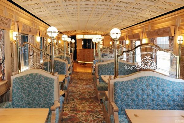 Bên trong tàu hỏa sang trọng bậc nhất Nhật Bản - Ảnh 3