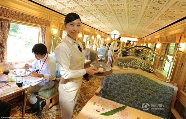 Bên trong tàu hỏa sang trọng bậc nhất Nhật Bản - Ảnh 5