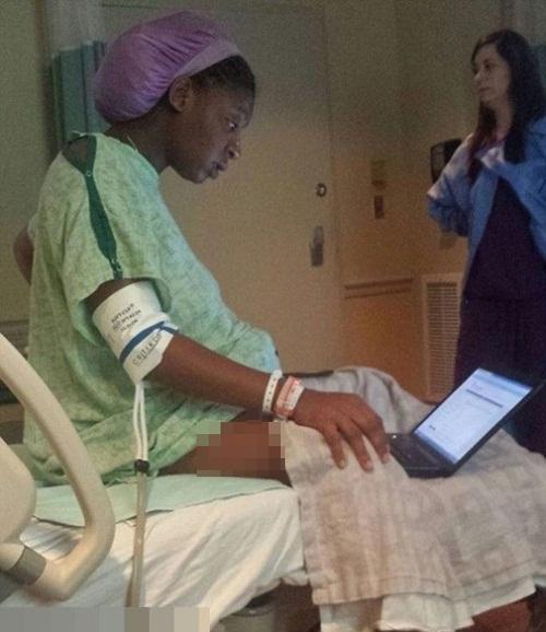 Đang đau đẻ nữ sinh vẫn cố làm bài kiểm tra gây sốt - Ảnh 1
