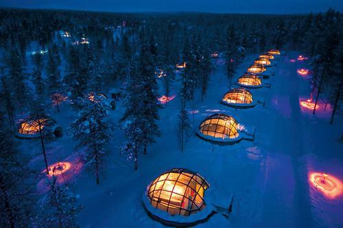 Những khách sạn độc đáo nhất thế giới thu hút du khách trong mùa đông - Ảnh 11
