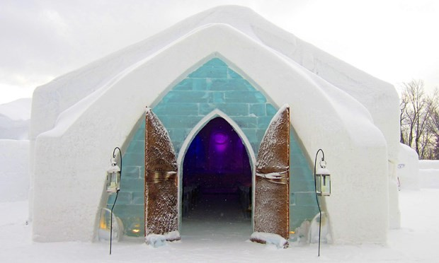 Những khách sạn độc đáo nhất thế giới thu hút du khách trong mùa đông - Ảnh 5