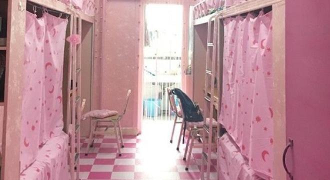 Ký túc xá toàn màu hồng của nhóm nam sinh hớp hồn dân mạng - Ảnh 4