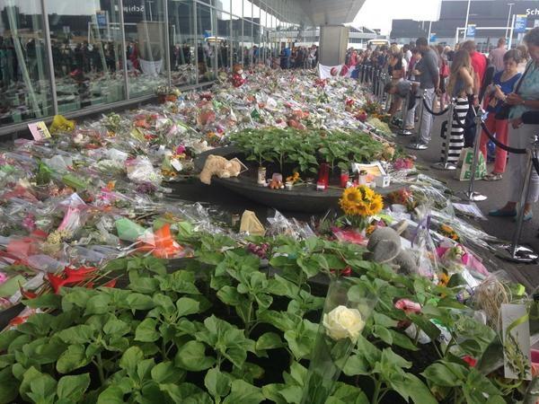 Chùm ảnh thế giới tưởng niệm 1 năm vụ MH17 bị bắn rơi - Ảnh 15