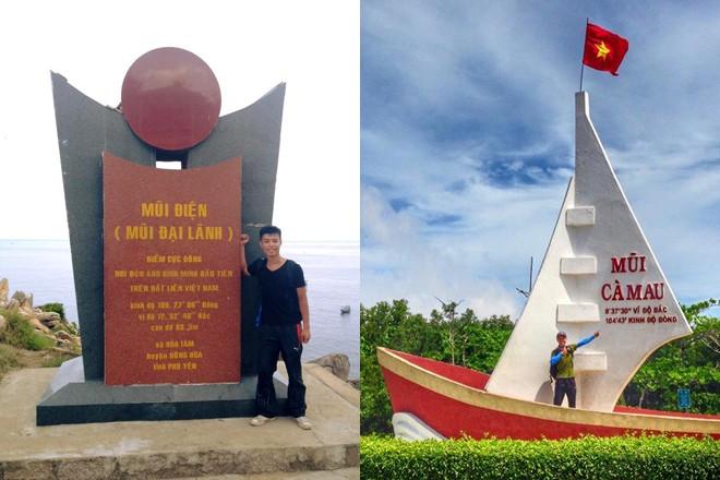 Nam sinh 19 tuổi một mình lái xe phượt xuyên Việt - Ảnh 3