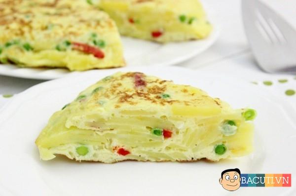 Cách làm món tráng miệng đậu hũ sữa chua, trứng chiên khoai tây thơm giòn - Ảnh 7