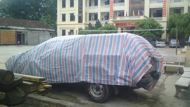 Khởi tố giám đốc trung tâm văn hóa huyện lái xe tông chết 2 mẹ con - Ảnh 1