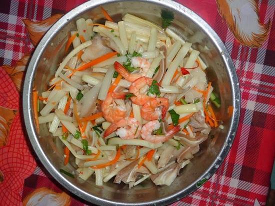 Gỏi ngó sen tôm thịt, gỏi cá trê chua ngọt cho thực đơn bữa cơm tối - Ảnh 4