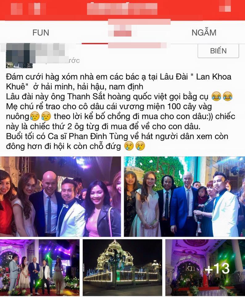 Đám cưới ở Nam Định, cô dâu được mẹ chồng trao vương miện trị giá trăm cây vàng - Ảnh 2