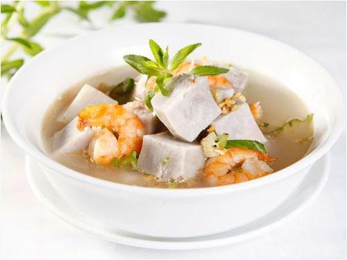 Ngon cơm trưa với thịt bò kho gừng, canh khoai sọ nấu tôm - Ảnh 2
